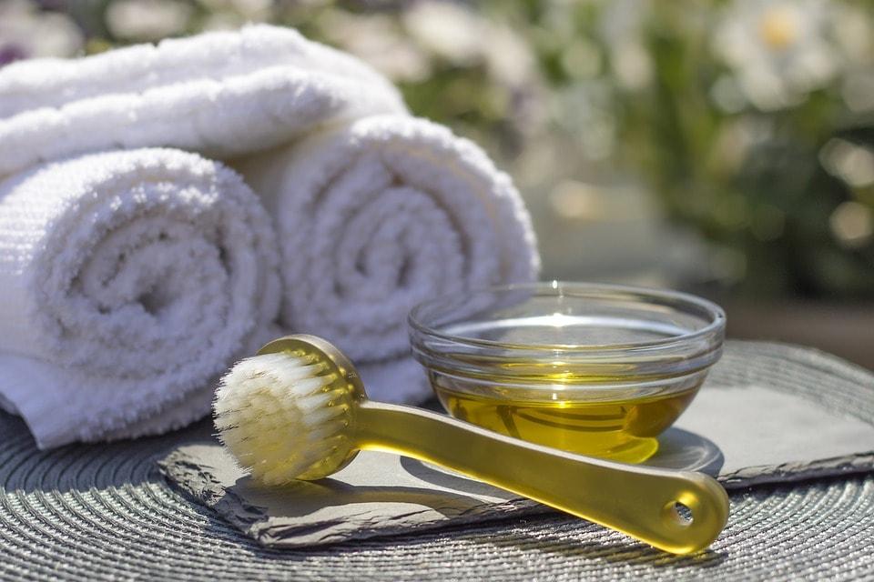 olio essenziale per massaggi