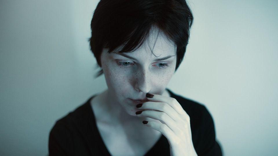 donna che ha paura