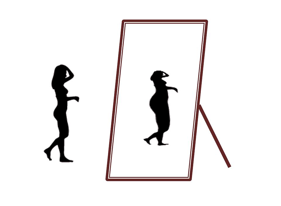 essere magre e vedersi grasse