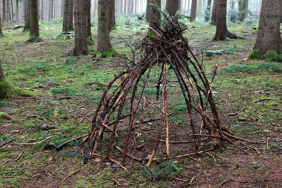 capanna sudatoria usata da sciamani