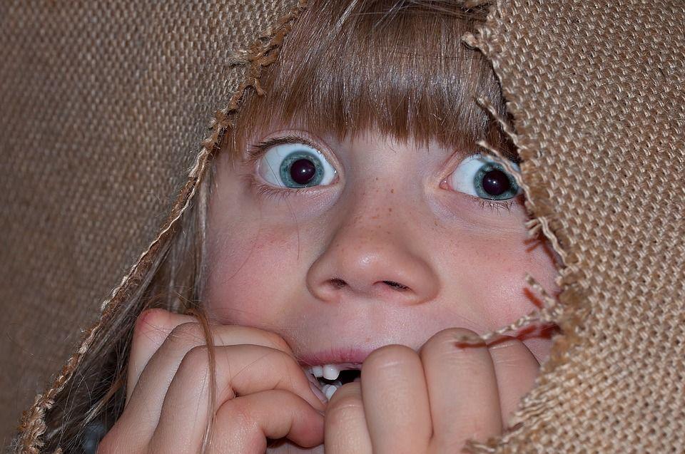 bambino che ha paura