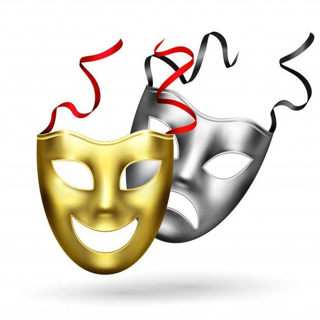 maschera allegro e triste