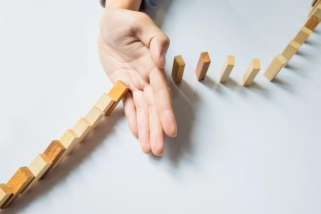domino interrotto